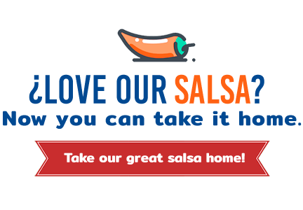 Love our salsa